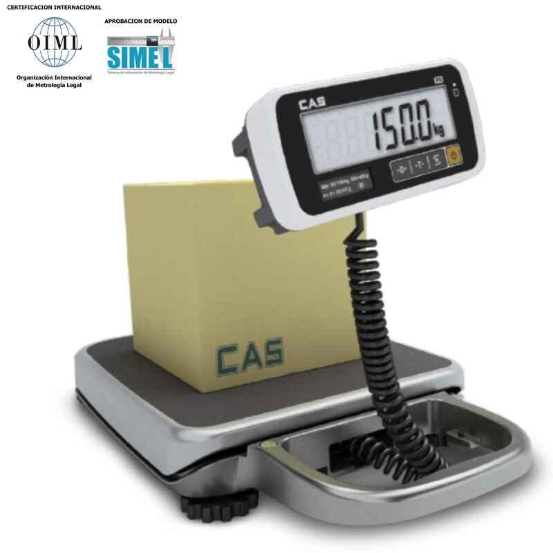 Báscula solo peso portátil CAS - PB-200