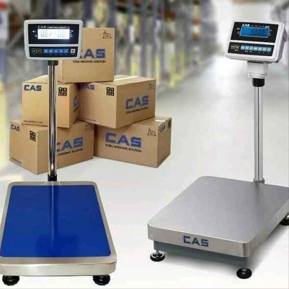 Bascula de piso CAS Modelo: HDI-150 / HDI-300