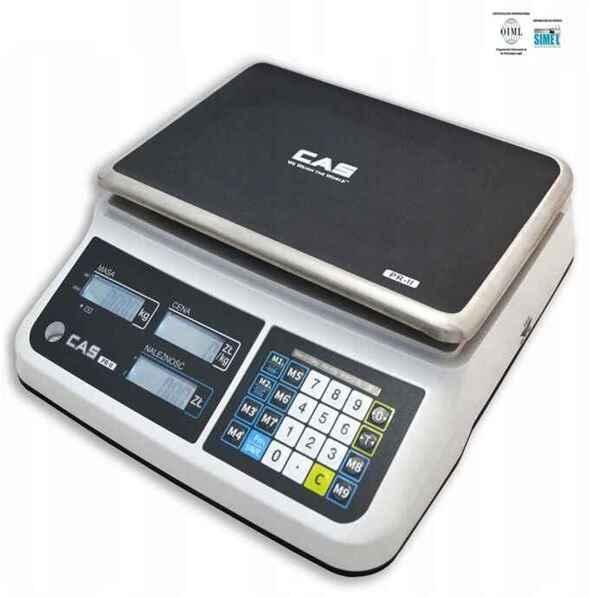 Balanza Liquidadora CAS- PR II Plana / USB conector a PC