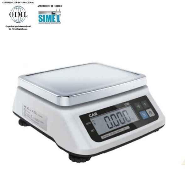 Balanza solo peso CAS-SW II